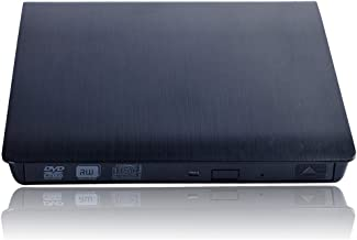 External CD Drive CYD USB 3.0 Ultra Slim External DVD CD Drive CD DVD RW/DVD CD ROM Drive/Writer/Rewriter/USB CD Burner for High Speed Data Transfer for Laptop Desktop and Notebook