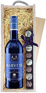 Harveys Bristol Cream Sherry & Trüffel, Holzkiste