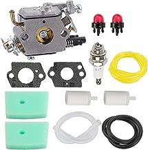 Hayskill C1Q-EL24 Carburetor w Air Filter Tune Up Kit for Husqvarna 123C 223L 322C 323R 123L 123LD 223R 322L 322R 323C 323L 325C 325CX 325L 325LX 326C 326L String Trimmer Carb