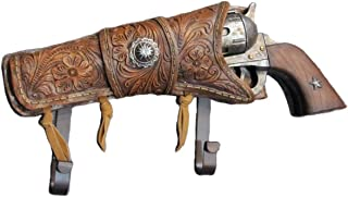 Six Shooter Revolver w/ Holster Coat Hook