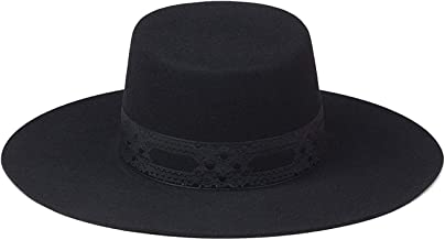 Lack of Color Women's The Sierra Wide-Brimmed Wool Boater Hat