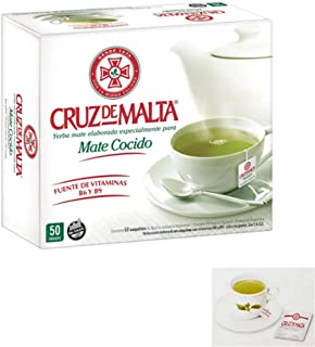 Cruz de Malta Yerba Mate 25 Tea Bags