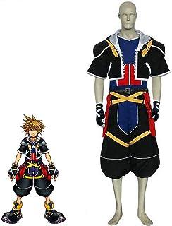 SHIXUE Kingdom Hearts Sora Disfraz Cosplay Adulto Disfraz De Halloween Anime De Halloween,XXL