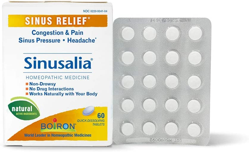 Boiron Sinusalia Sinus Max 73% OFF Tablets 60 Limited price sale Relief