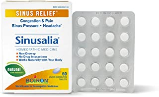 Boiron Sinusalia Sinus Relief, 60 Tablets