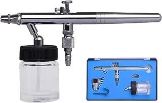 AW 0.35mm Dual Action Siphon Feed Airbrush Kit Spray Gun Tattoo Paint Hobby Makeup Art
