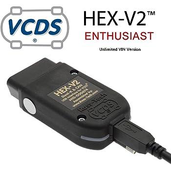 Galaga Fil VCDS Hex-V2 V2 18.9 Connecteur de Diagnostic sans /édition Professionnelle Le fran/çais
