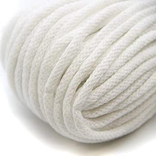 NTS Costuras 50m de cordón de algodón con núcleo 6mm de Ancho