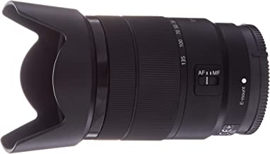 Sony 18-135mm F3.5-5.6 OSS APS-C E-Mount Zoom Lens (Renewed)
