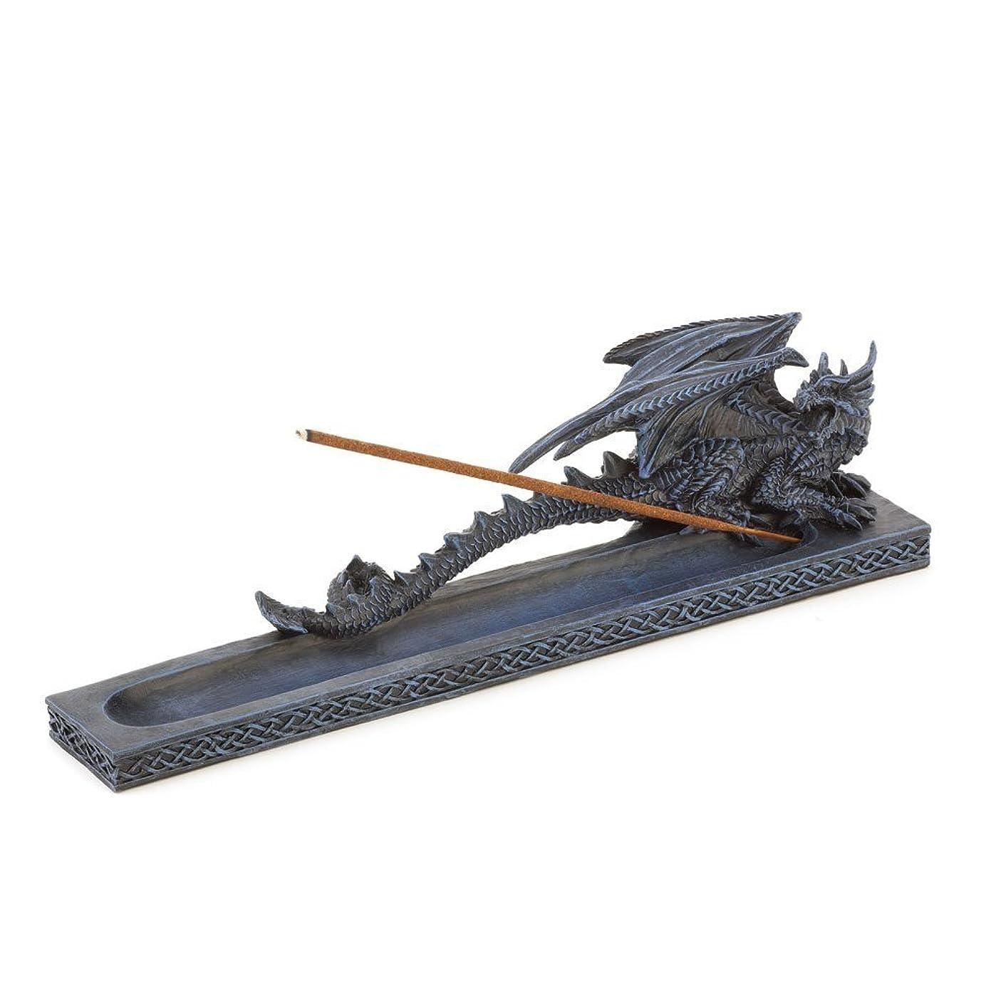 アンペア規範闇Incense Burners、樹脂ドラゴン香炉像for Incense Stick
