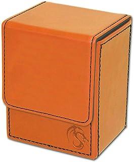 BCW Deck Case Box LX Orange (Holds 80 Cards) Deck Case