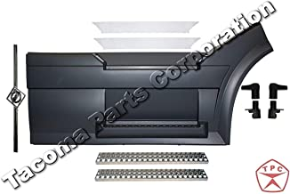Volvo VNL Front Step Fairing Panel RH (Passenger) Side with fairing handle, steps, stainless steel trim (upper step fro LH and RH) and FREE Volvo Logo and stripe