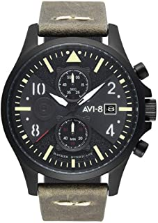 Hawker Hurricane AV-4068-03 Bulman Chronograph Watch | Charcoal Green