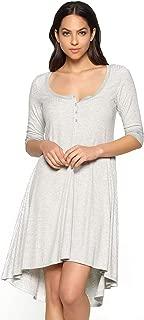 Felina Women's Loungewear Chelsea Long Chemise