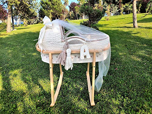 By Seay Newborn Baby Moses Handmade Basket Product Image