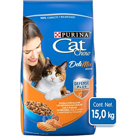 Purina - Cat Chow Comida para Gato, Adulto, Deli Mix, 15.0 kg