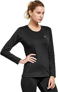 BALEAF Women's Lightweight Thermal Underwear Set Ultra Soft Fleece Lined Long Johns for Indoor&Outdoor