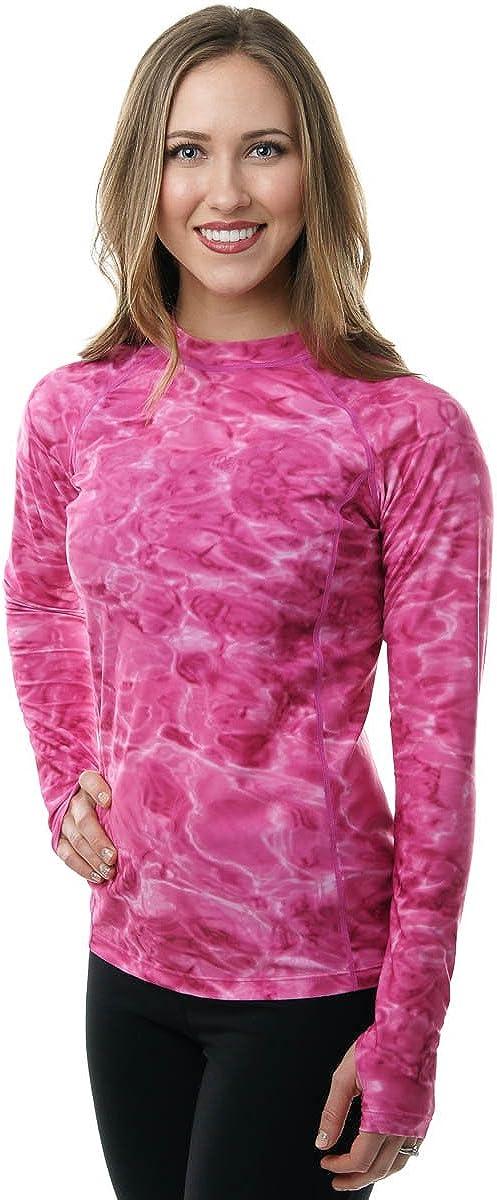Aqua Design Womens Rash Guard In stock Long Ras Swim 50+ Shirt UPF Sleeve shopping