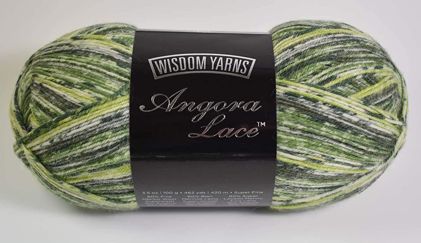 Wisdom Yarns Angora Lace Color #103 Back to Nature