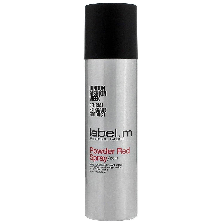 一回アルコール地域のLabel.M Professional Haircare ラベルMパウダーレッドスプレー5オズ 5オンス