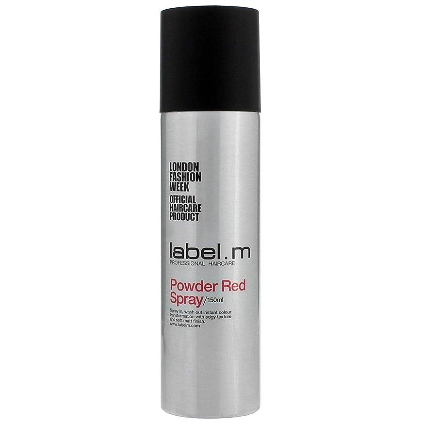 製油所不規則な触覚Label.M Professional Haircare ラベルMパウダーレッドスプレー5オズ 5オンス