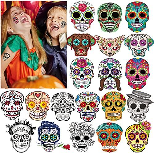 100x halloween Tatuajes Temporales Para...