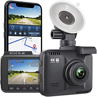 Rove R2-4K Dash Cam Built in WiFi GPS Car Dashboard Camera Recorder