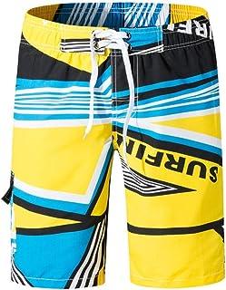 MASCHERANO Mens Swimwear Shorts Trunks Beach Board Running Sports Surffing