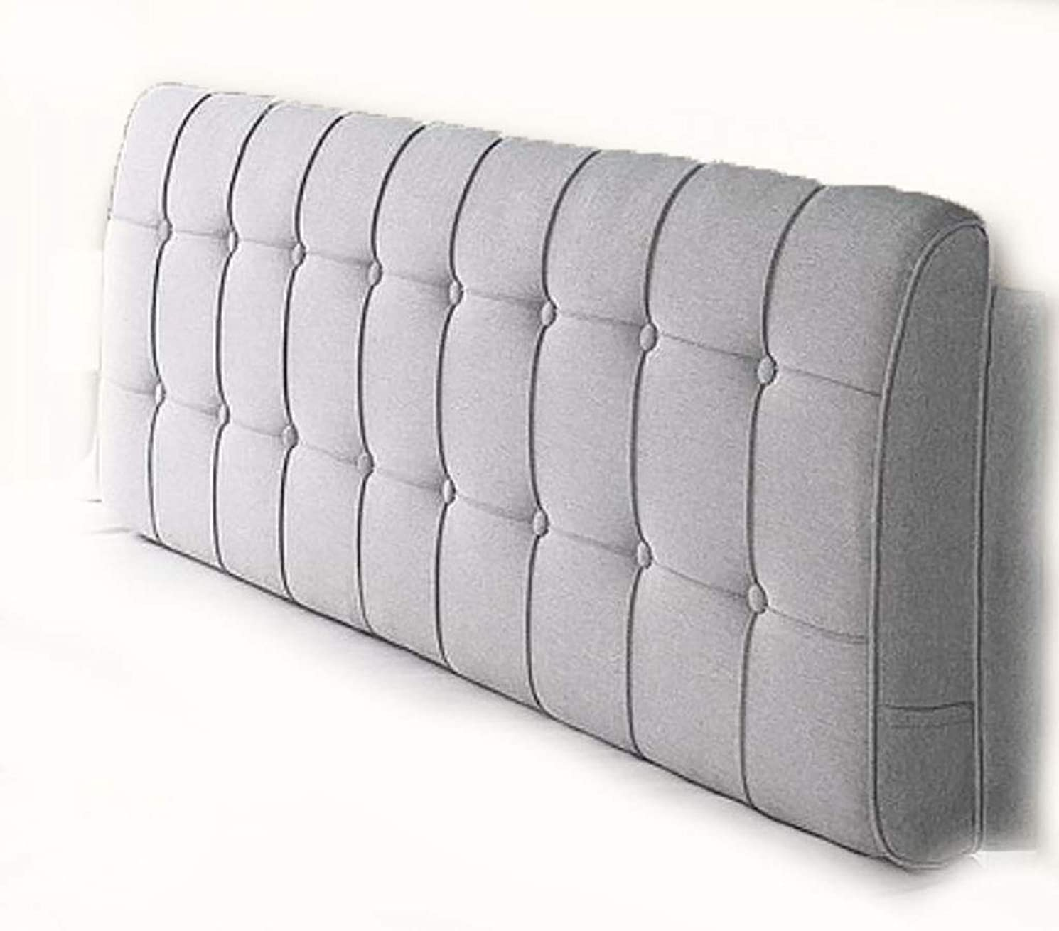 ランチョン使役あらゆる種類のベッドサイドクッション柔らかい布の布の綿ベッドの頭のクッション背もたれの枕のベッドカバー取り外し可能で洗える (色 : B, サイズ さいず : 200*58cm)