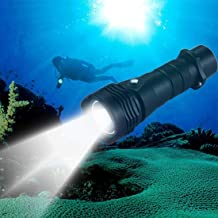 Good-Looking Sturdy Durable 10W L2 1000LM Outdoor Diving White Light Waterproof Torch LED Flashlight Fashion
