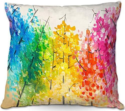 Dia Noche Designs Outdoor Patio Throw Charlotte Mall Pillow Detroit Mall x 16