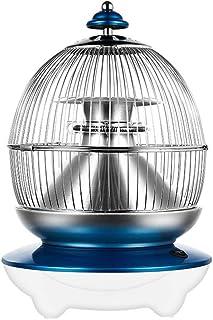 Calefactor eléctrico 850W Calefactores Y Radiadores Halógenos Casa Pequeña Calentador Calefacción De 360 Grados Ajuste De 2 Velocidades Mudo Inodoro Azul (Color : Blue)