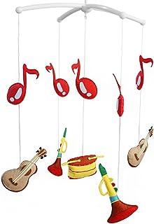 [Instruments de musique] belle rotation lit lit bébé jouet cloche mobiles