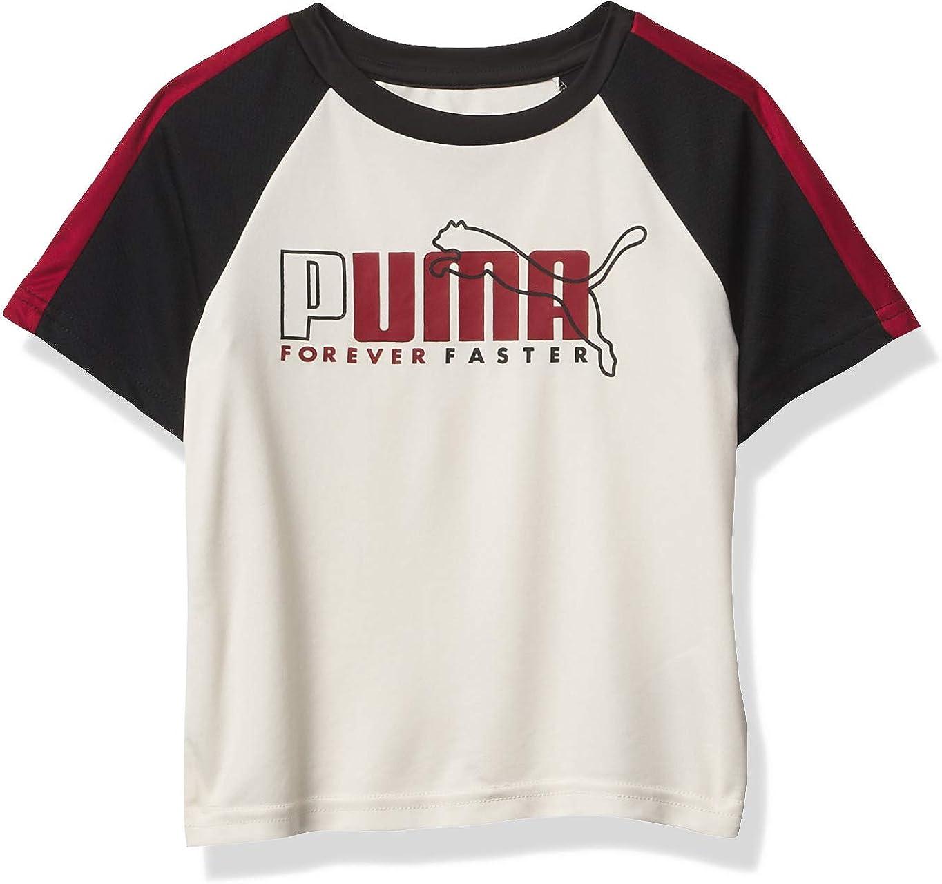 PUMA Boys' Performance Raglan T-Shirt