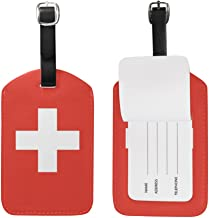 Swiss flag Luggage Tags