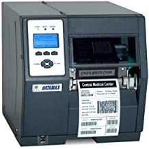 """Datamax C82-00-48000004 H-6210 H-Class Printer with Tall Display and Power Supply, 6"""" Direct Thermal Transfer, Serial/Parallel/USB/Ethernet, 203 DPI, 10IPS"""