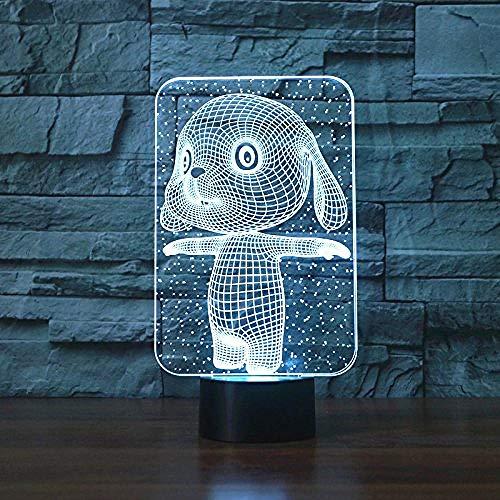 3D illusie Night Light Bluetooth Smart Control 7 & 16 M Color Mobile App LED Vision Drum Cool Boy slaapkamer Decor Bulbing speelgoed voor kinderen kleurrijke gadget voor kinderen creatief cadeau