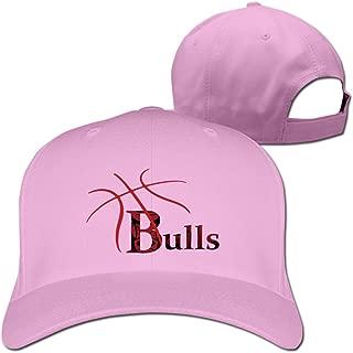 Bulls Basketball Lines Baseball Cap White