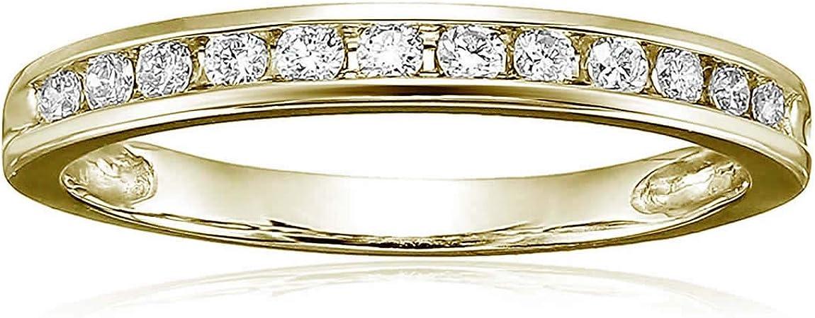 New Shipping Free Vir Jewels 1 4 cttw Classic Wedding Cheap bargain Band White 14K Diamond Gold