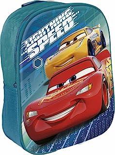 Disney Cars Mochila para niños, 29 cm, multicolor
