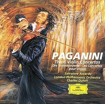 Paganini: The 6 Violin Concertos