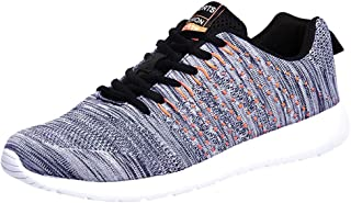 Yamall Mens Walking Shoes Running Athletic Fashion Tennis Blade Sneakers
