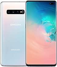 Samsung Galaxy S10+ Factory Unlocked Phone with 128GB (U.S. Warranty), Prism White (Renewed)