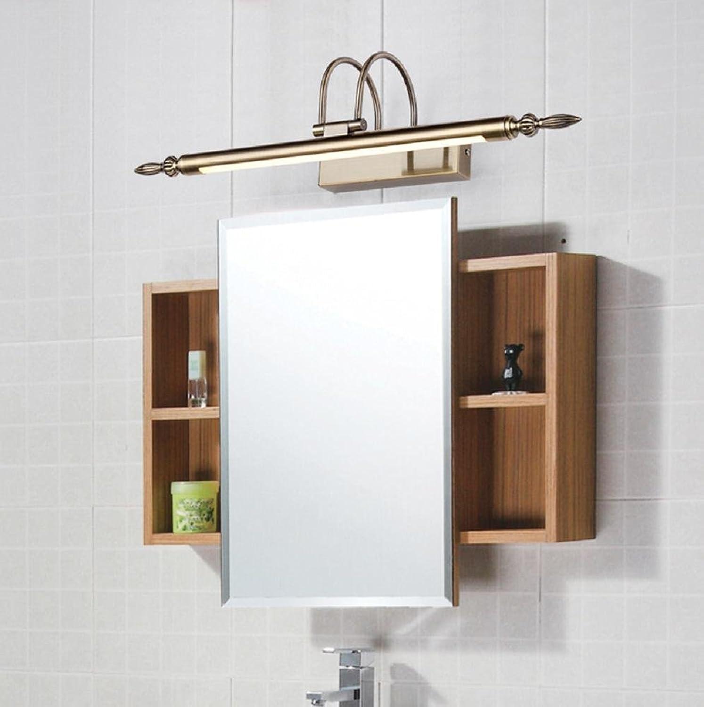 WGE Spiegel Lampe Badezimmer Spiegel Kabinett Beleuchtung Wasserdicht Led Spiegel Beleuchtung, Weiß, 66Cm
