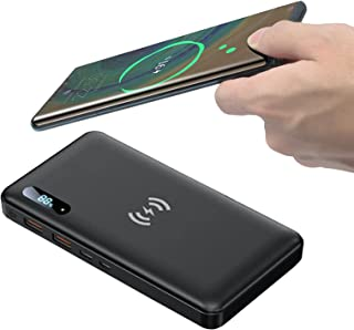 Power Bank 50000mah PD 65W/15W QI Wireless Portable Charger Support QC3.0/QC4.0/SCP with 2 Input Port And 4 Output Ports E...