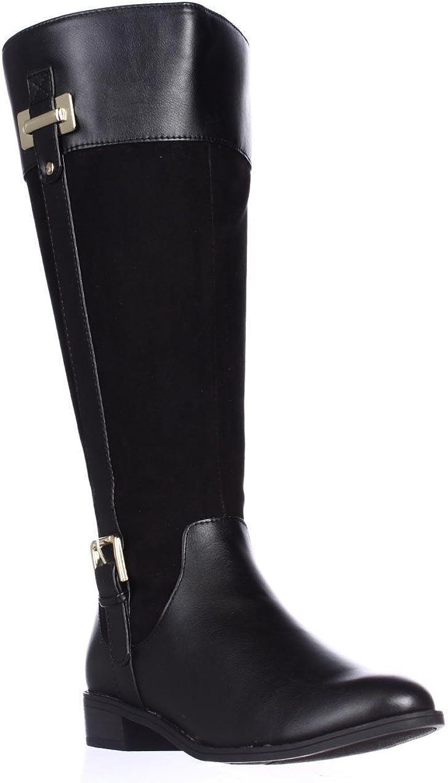 Karen Scott Womens Deliee Round Toe Knee High Fashion Boots