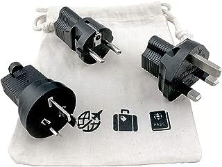 international travel adapter plug set