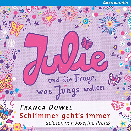 Julie und die Frage, was Jungs wollen     Schlimmer geht's immer 4              By:                                                                                                                                 Franca Düwel                               Narrated by:                                                                                                                                 Josefine Preuß                      Length: 3 hrs and 17 mins     Not rated yet     Overall 0.0