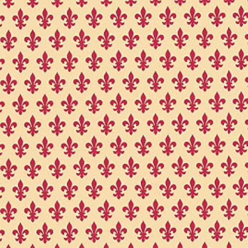Astur Dintex - Adhesivo clasic lys rojo 45cmx15m