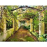 Fototapete Garten Natur 3D Vlies Wand Tapete Wohnzimmer...